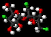 Sucralose molecule