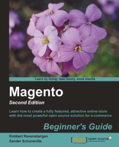 Magento Beginner's Guide, 2nd Ed. Cover